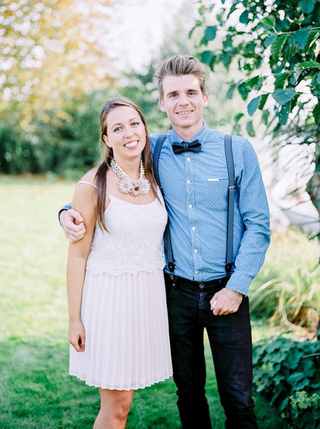 bohemian laidback bruiloft
