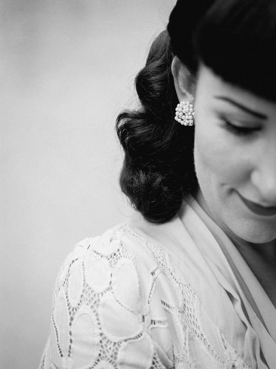 vintage portret fotografie