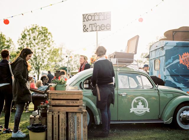 food truck festival TREK koffie thee smaakbus koffiekever