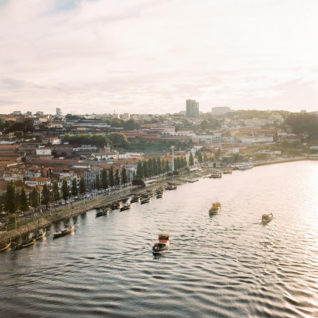 porto film travel stock fotografie