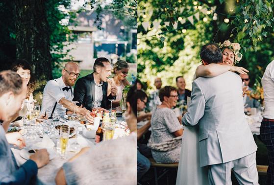 michel rianne bruiloft limburg buiten bohemian bloemenkrans analoge fotografie fotograaf