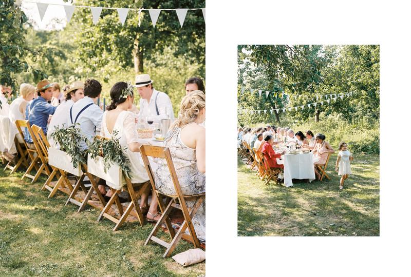 bohemian festival bruiloft