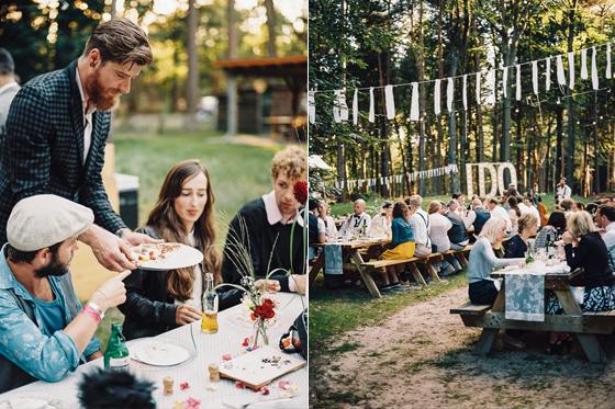 bos bruiloft