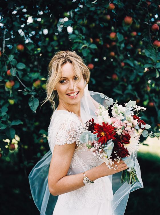 bohemian bruiloft bos trouwen fotograaf analoog