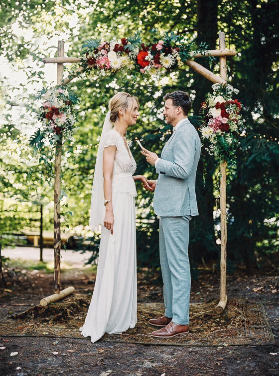 bohemian bruiloft