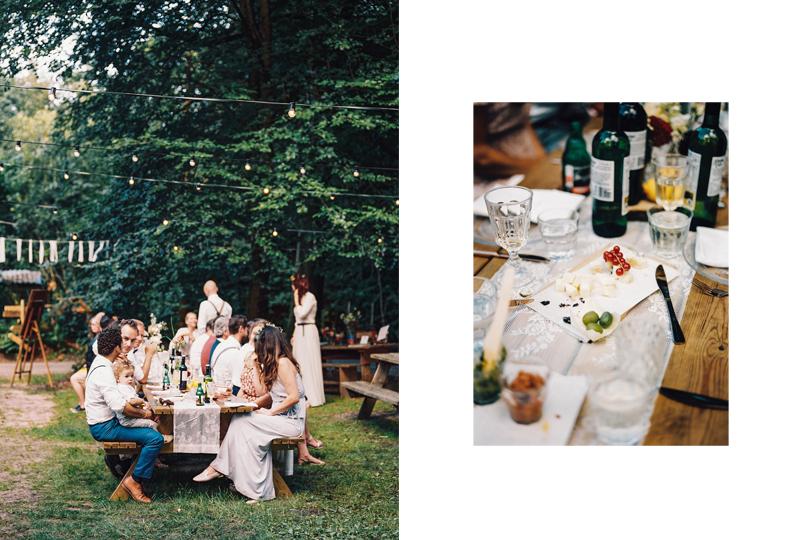 bohemian bruiloft bos vlintenholt